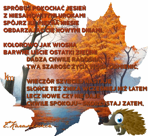 2014 10 30 Jesienny Wieczorek Poetycki Przedszkole